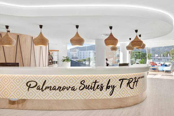 Reception 24h/24 hôtel palmanova suites by trh magaluf