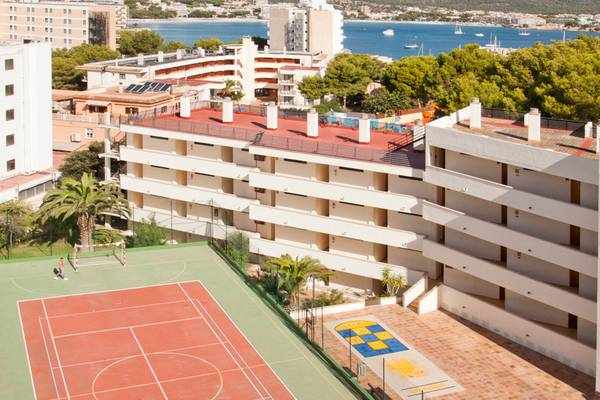 Court de tennis hôtel palmanova suites by trh magaluf